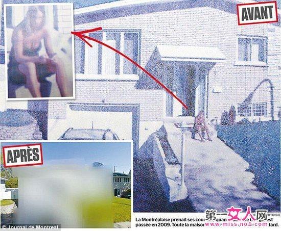 女子在谷歌街景中看见自己乳沟 索赔2250美元