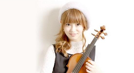 不只擁有甜美外表《美女小提琴家岡部磨知》更要用優美的琴聲打動你!