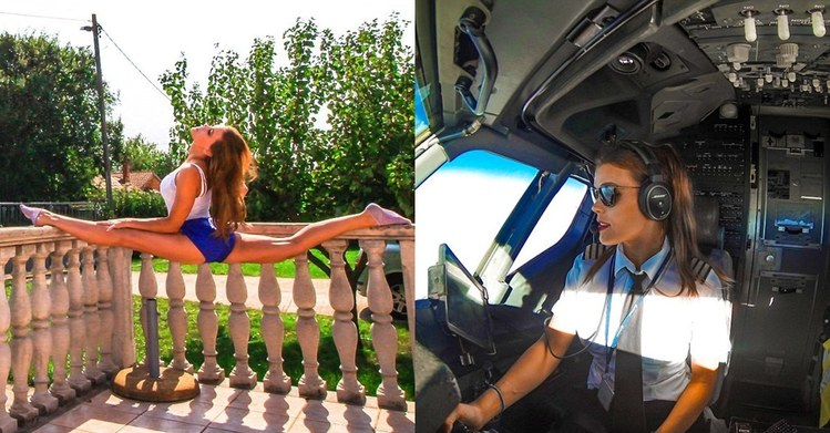 【手機交友APP推薦】瑞典正妹女機師筋骨超軟Q!她在IG分享自己到各國的「劈腿照」意外爆紅:好想被你...