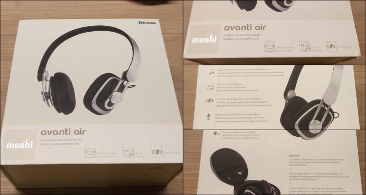【手机交友软体推荐】Moshi Avanti air~舒适与音质兼具的好耳机