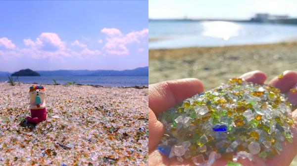 【手機交友APP推薦】寶石灑落一地!新興打卡聖地《日本長崎玻璃沙灘》美到你睜不開眼睛!