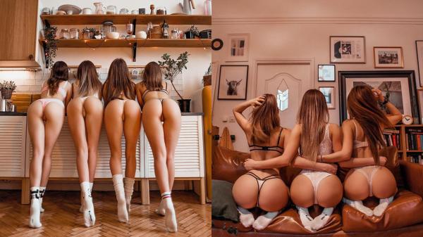 【手機交友APP推薦】排排站任你挑!歐美攝影師《專拍美臀和長腿》這下肯乖乖待在家了吧!
