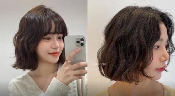 【手機交友APP推薦】2021燙髮推薦:蓬鬆柔軟Below Perm,是短髮、中長髮都適合的鬆軟捲度!