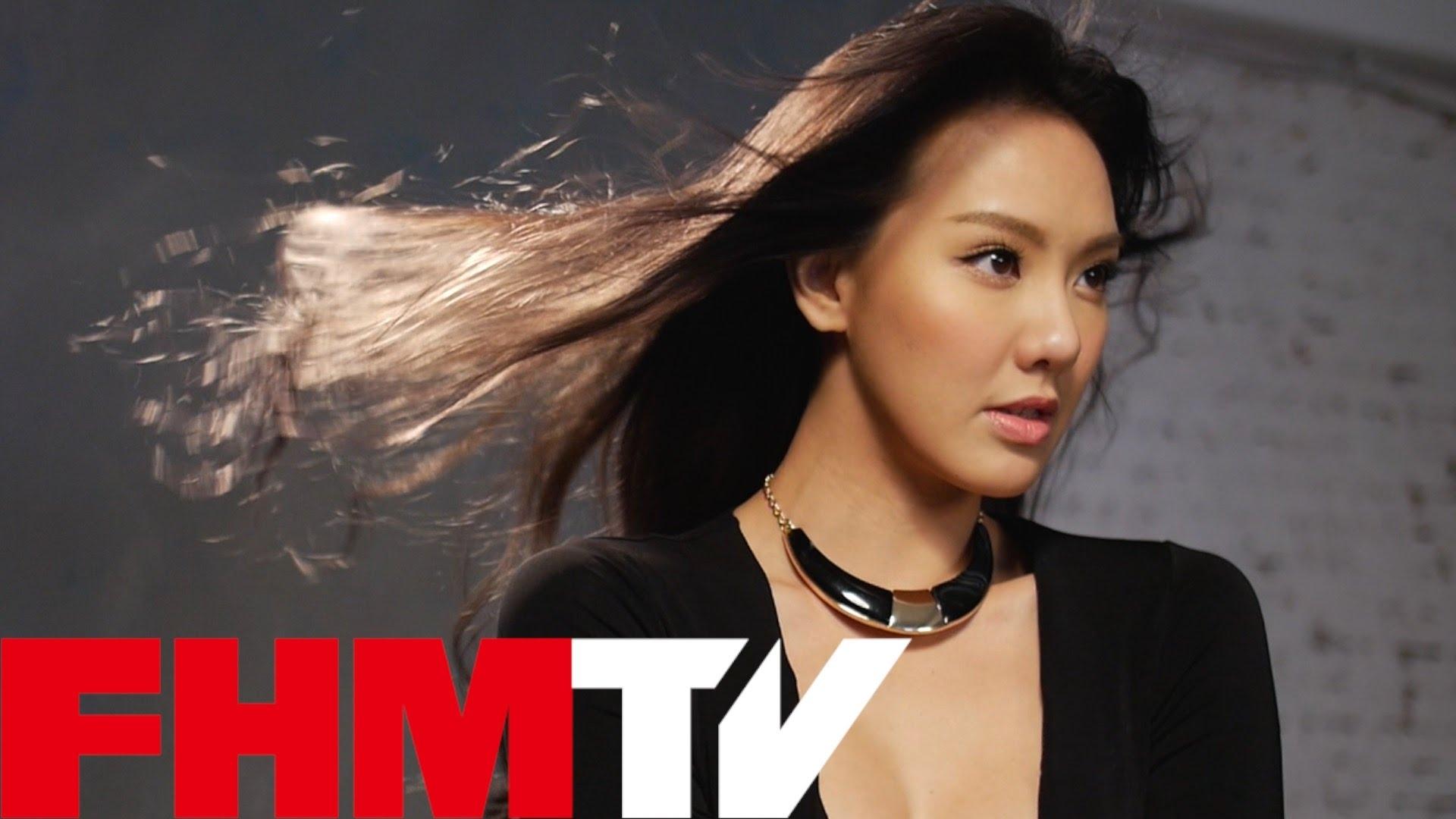 FHM Cover Girl 性感地讓你水裡來,火裡去──劉雨柔!